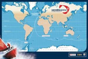 Vendée Globe - Le Vendée Globe 2016-2017 constitue la huitième édition du Vendée Globe. Le départ sera donné le 6 novembre 2016 en baie des Sables d'Olonne. Les bateaux admis à participer à cette course sont des voiliers monocoques d'une longueur comprise entre 59 et 60 pieds. Réaliser le tour du monde à la voile, d'Ouest en Est, par les trois grands caps de Bonne Espérance, Leeuwin et Horn...