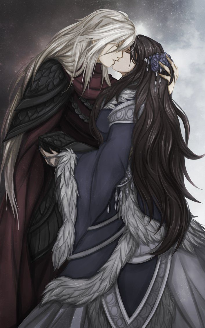 This is so beautiful! Rhaegar and Lyanna by FireEagleSpirit (A Song of Ice and Fire)