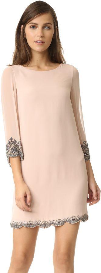@roressclothes clothing ideas #women fashion blush dress alice + olivia Frieda Dress