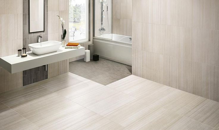 Gorgeous and Ultra Modern Bathroom with the Marazzi Lounge 14