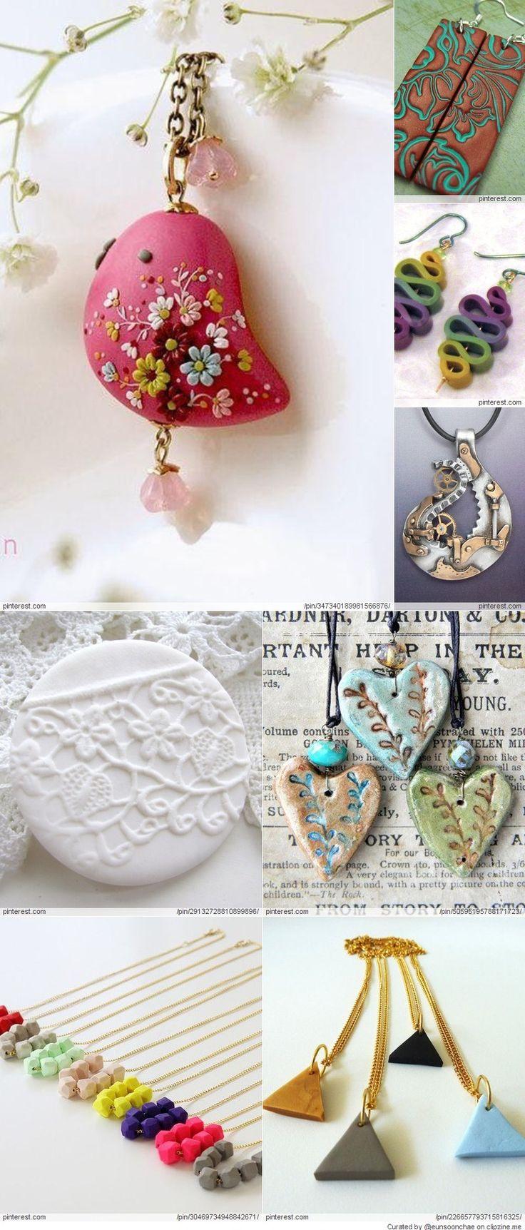 Polymer Clay Tutorial 6 Ways To Make Clay Bracelets: The 25+ Best Polymer Clay Jewelry Ideas On Pinterest