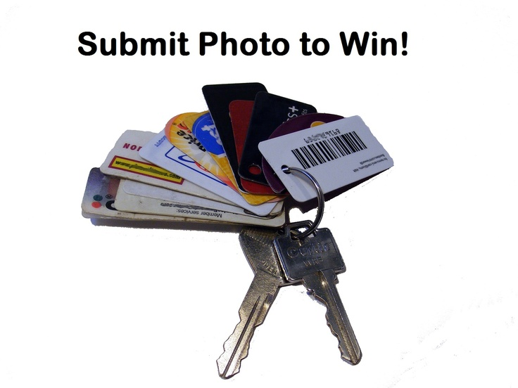Email a photo of your keychain with shopper ID and Loyalty cards to mailto:info@tagwr.... We'll post it on our Board and choose a winner each week to receive a FREE TagWrap Organizer!