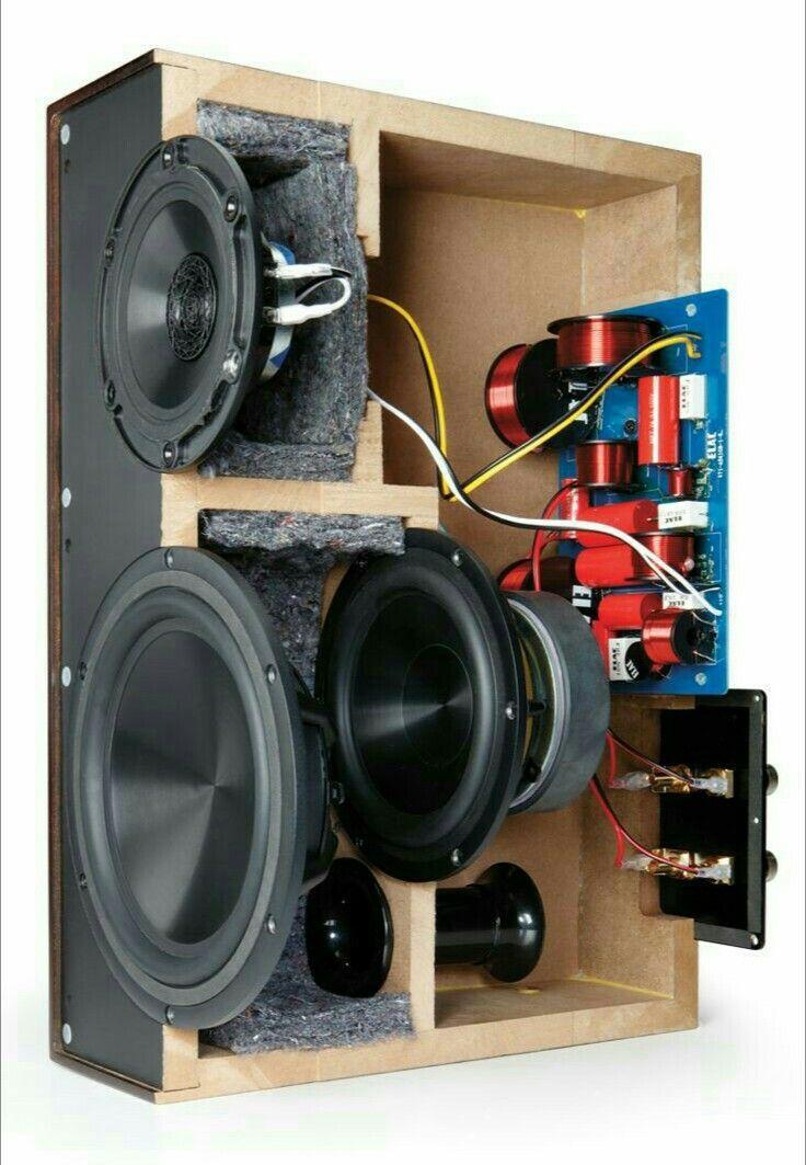 speker Diy Subwoofer, Subwoofer Box Design, Speaker Box