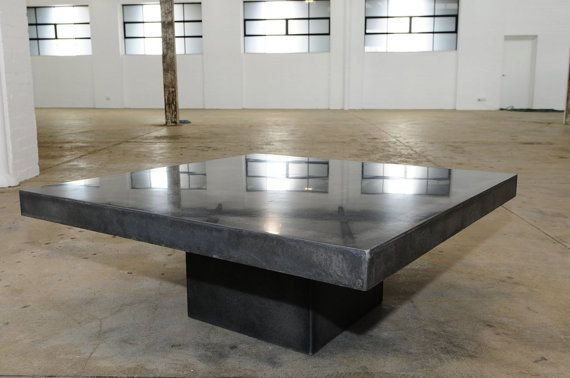 Diy Polished Concrete Dining Table: Best 25+ Concrete Coffee Table Ideas On Pinterest
