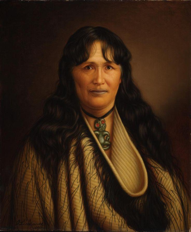 Gottfried Lindauer / Te Paea Hinerangi (Guide Sophia), 1896