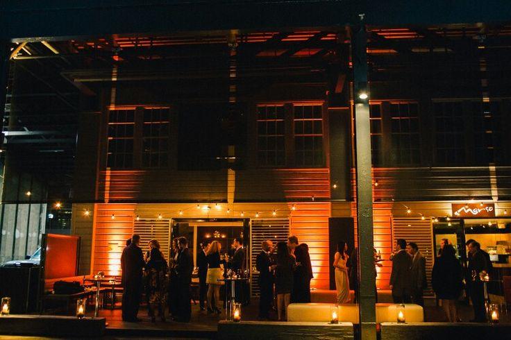 Pre dinner drinks on the deck Cafe Morso Events  Photo credit #studiosomething