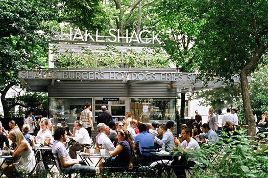 Best burger experience in Madison Square Park...