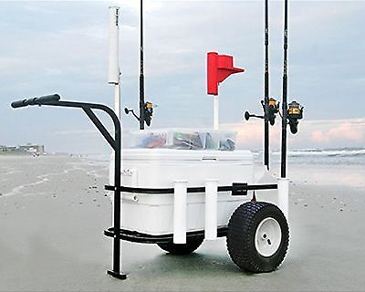how to make a fishing cart