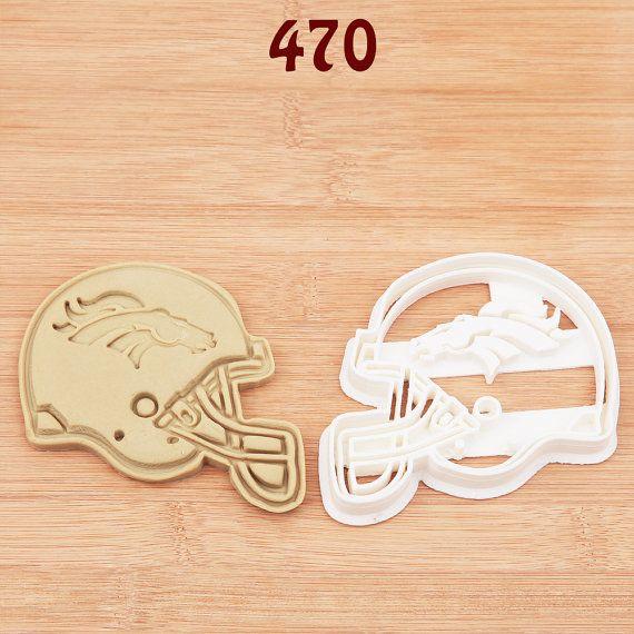 Denver Broncos Cookie Cutter Denver Broncos by MKCookieCutter