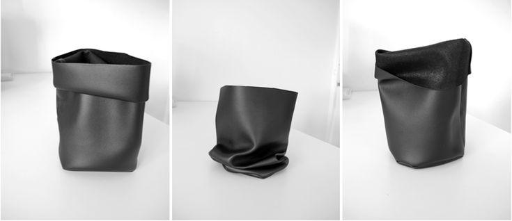 DIY: leather bag