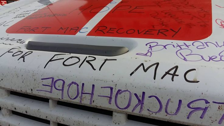 #TRUCKOFHOPE Drove western #Canada gathering #donations for the #FortMac...
