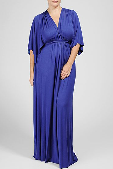 THIS KIMONO SLEEVE MAXI DRESS IS OUR ALL-TIME BEST SELLER! GREAT FOR ALL SHAPES AND SIZES.