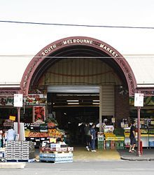 The South Melbourne Market is my local for buying from independent & family run businesses. Many buy with a local focus. I source fresh food, flour, nuts and pulses, deli, seafood, brewed beverages, pet supplies, homewares, Asian groceries and dim sum, toiletries household goods
