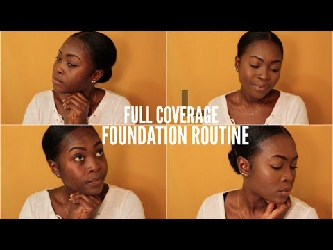 EVERYDAY FULL COVERAGE FOUNDATION ROUTINE || FT. BECCA FOUNDATION - YouTube