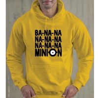 BA-NA-NA #MINION - Yellow Unisex #Hoodie. £26 with FREE UK DELIVERY. Also available in Female, Unisex, Kids & Bag