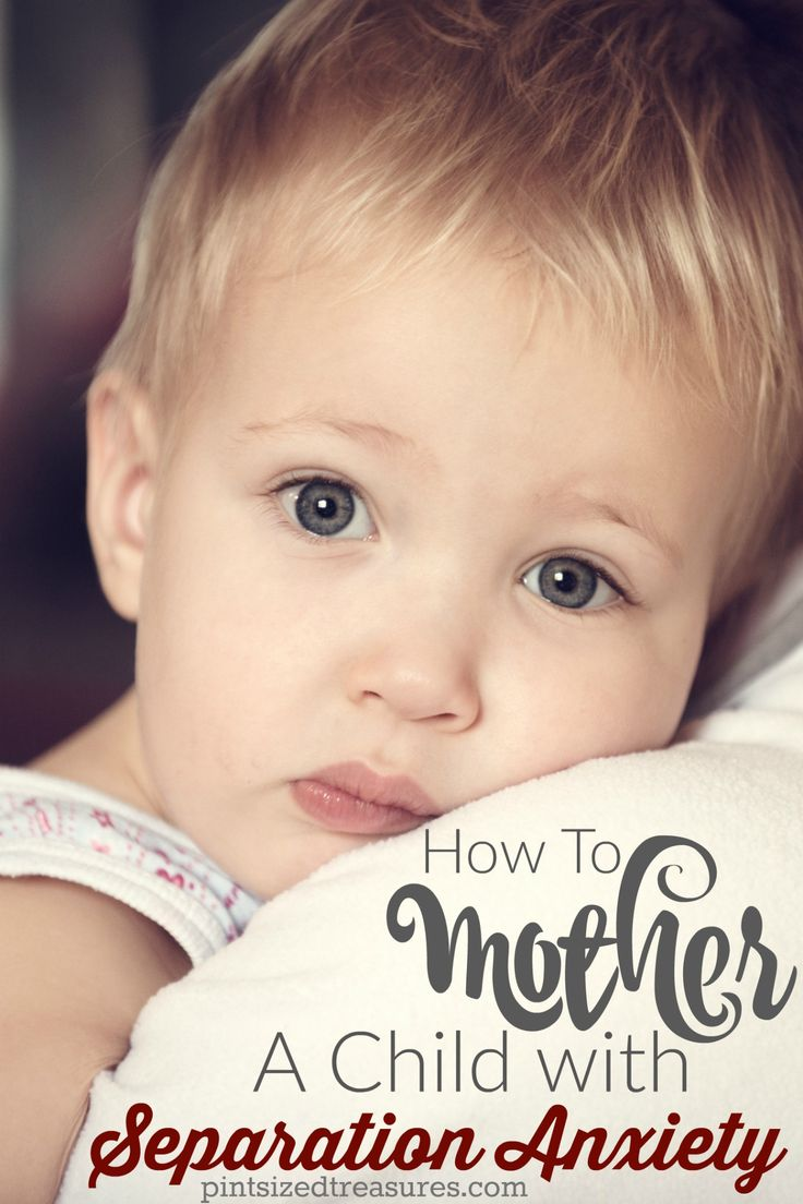 How to mother a child with separation anxiety --- tips that actually work! @alicanwrite
