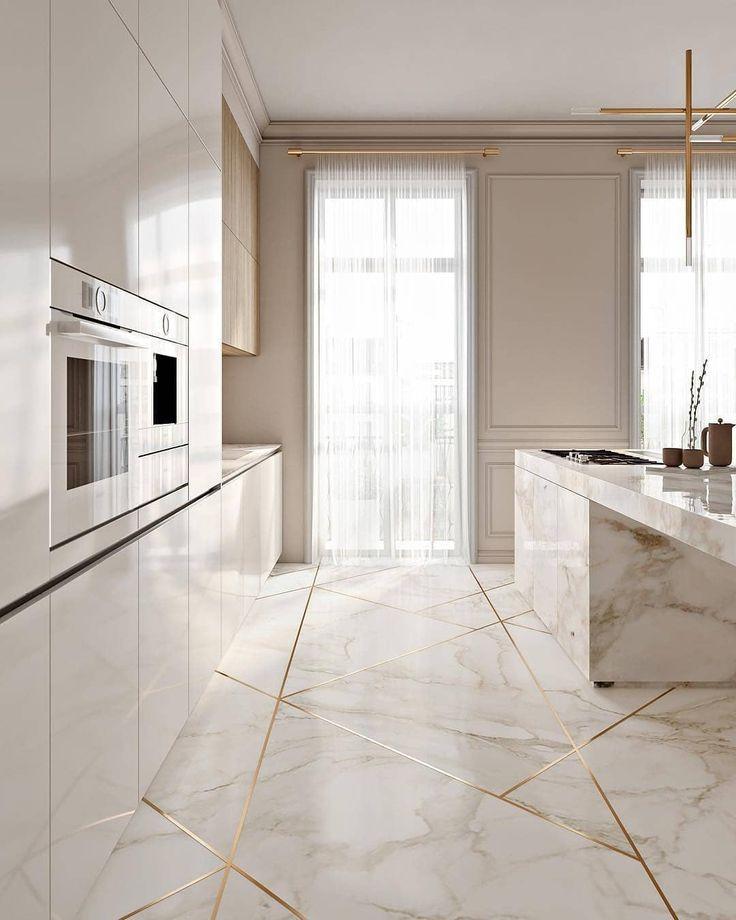 Courtney Schrank Design Studio On Instagram Intersection Make Sure You Look Both Ways Before Minimalist Kitchen Design Kitchen Marble Marble Kitchen Island