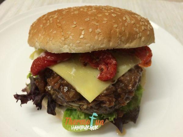 ThermoFun   MAD MONDAY   Hamburger Recipe
