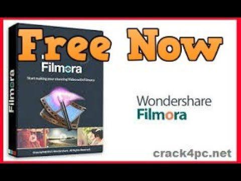 WonderShare Filmora Free cracked
