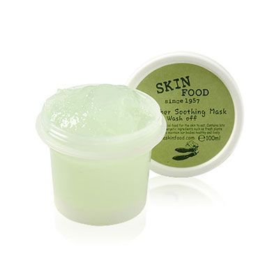 Skinfood Cucumber Soothing Mask Wash Off