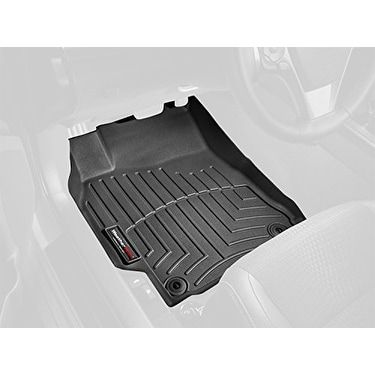 WeatherTech Custom Fit Front FloorLiner for Smart ForTwo (Bl - Black