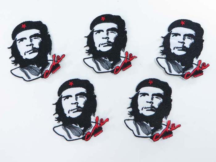 Che Guevara rebel Cuban revolutionary Marxist political figure embroidered iron on patch $1.5 - http://www.wholesalesarong.com/blog/che-guevara-rebel-cuban-revolutionary-marxist-political-figure-embroidered-iron-on-patch-1-5/