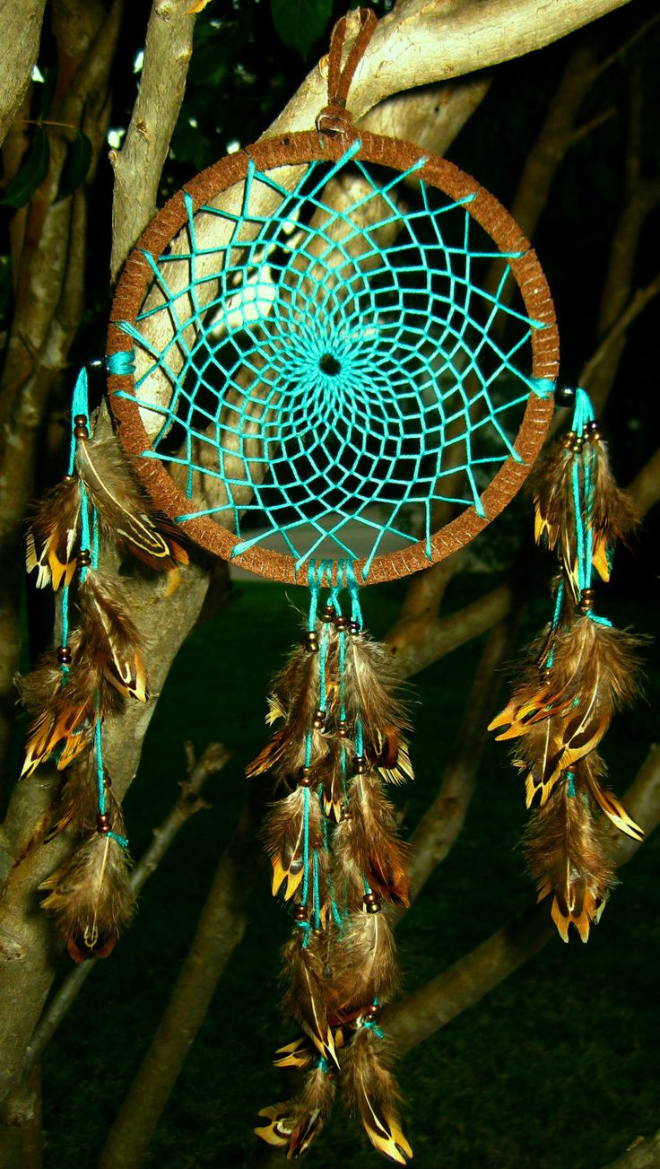 Turquoise Dream Catcher @Sara Johnson.....I want one like this where can I get the supplies???