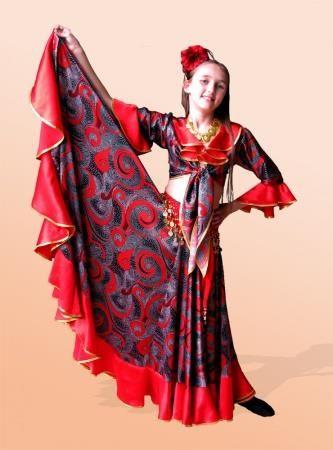 Где можно купить детский цыганский костюм для девочки