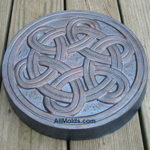 celtic stepping stone molds