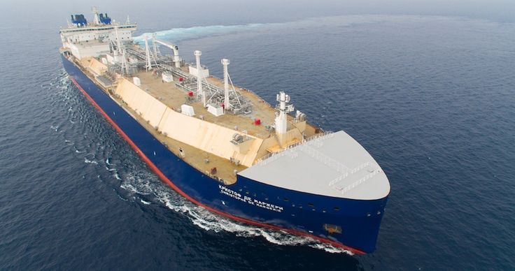 Ice-Class LNG Carrier 'Christophe de Margerie' Starts Maiden Voyage Through Northern Sea Route – gCaptain