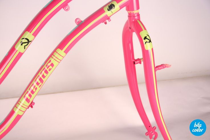Bicicleta Pegas limited edition by BitaColor