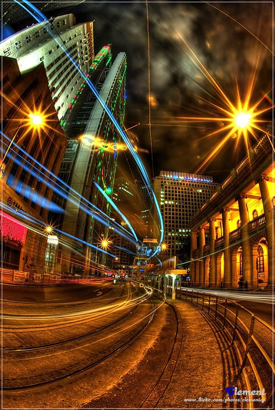 Light Trail Photography