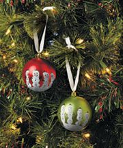 55 best Christmas ball ornaments images on Pinterest  Christmas