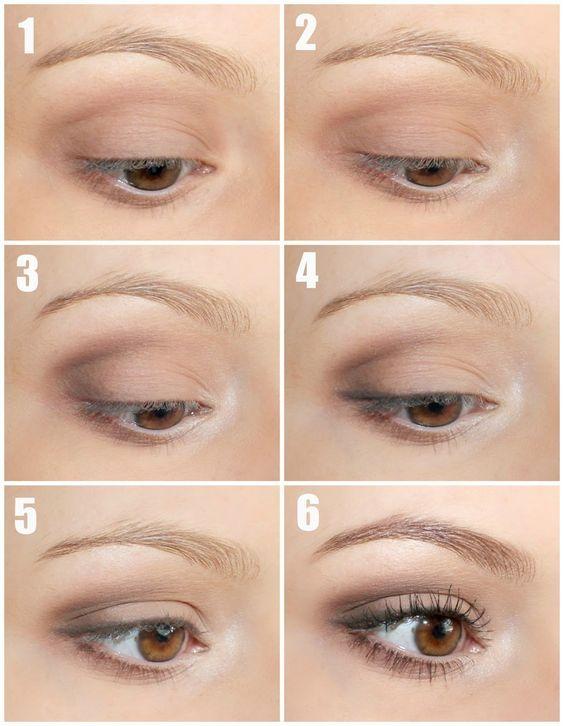 Top 12 Naked Eye Makeup Tutorial - Beste berühmte Mode-Design-Trick & Look-Idee - Weg, um glücklich zu sein