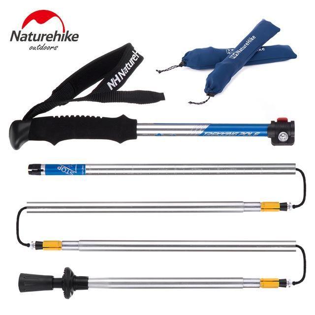 Naturehike Aluminum Folding Walking Stick