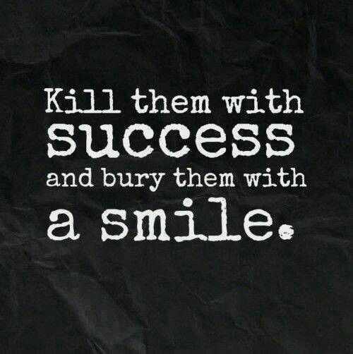 Success and smiles