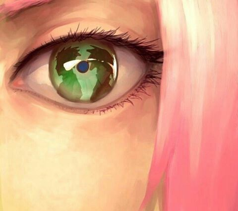 This is gorgeous. Such an amazing art and idea. #Sakura #Naruto