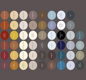 Choisir une couleur de peinture pour le salon la chambre facilement avec 64 couleurs déclinées en 3 ambiances déco pour peindre selon son style déco