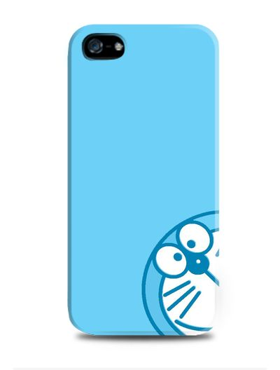 Cute, Blue Doraemon iPhone case for iPhone 4S by Cha-Ching for Tees. Also available for BlackBerry and Samsung smartphones. http://www.zocko.com/z/JH8fx