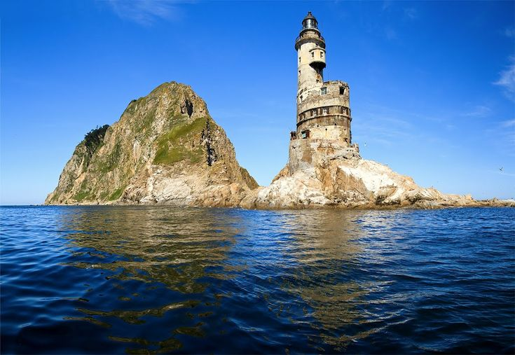 The Aniva Lighthouse