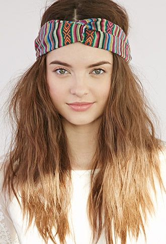 Baja Patterned Headwrap | Forever 21 - 1000076753