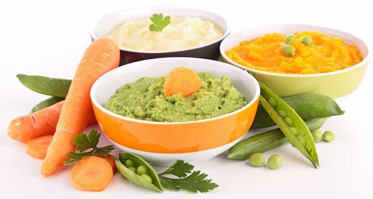 Rychlý přehled zeleninových kombinací polévek pro nejmenší