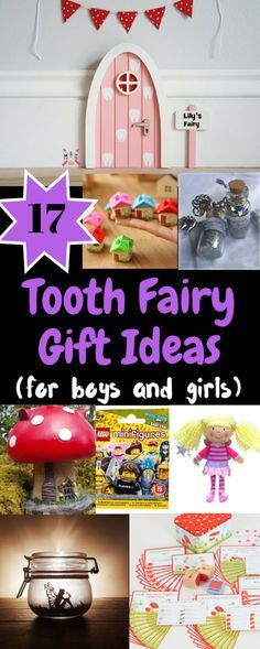 Tooth Fairy Gift Ideas for Girls and Boys