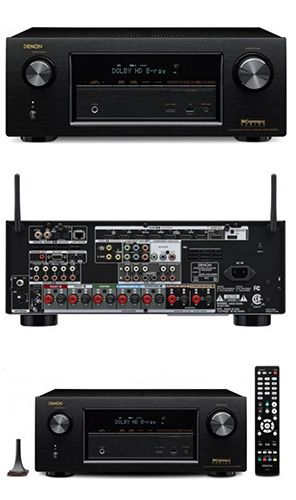 This incredible Denon 7.2 Channel Black Network AV Receiver - (AVR-X3100W) is equipped with both Wi-Fi and Bluetooth Wireless technologies. Listen to your favorite tracks from your Portable Audio Player, Smartphone and Tablet, as well as your Home Network! It's just the thing your Home Theater is missing, so go on and take a look, we promise you won't be disappointed.
