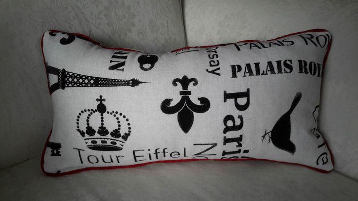 Scatter Bolster Cushion Cover Black&White Designer Decorative French Design