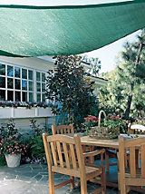 Coolaroo Shade Sail - Patio Shades - Outdoor Shade Triangle | Solutions | Solutions