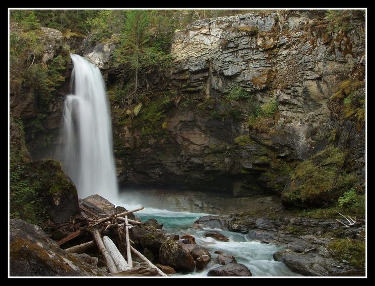 Sutherland Falls  Near Revelstoke B.C.