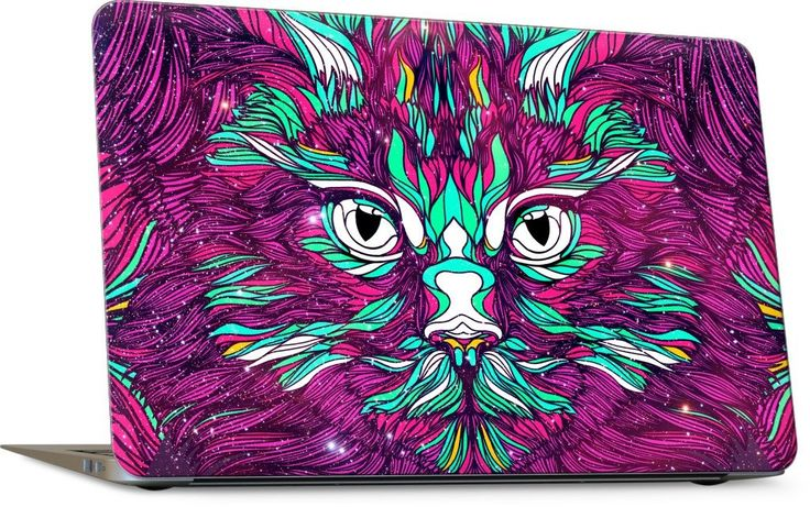 Space Cat Laptop Skin