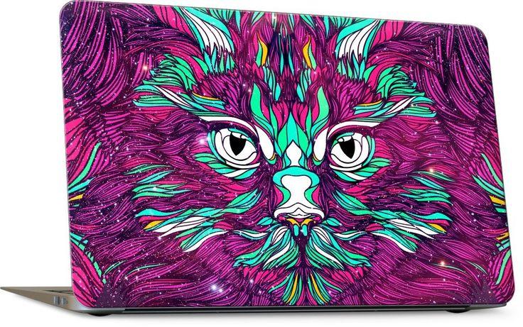 Space Cat Laptop Skin