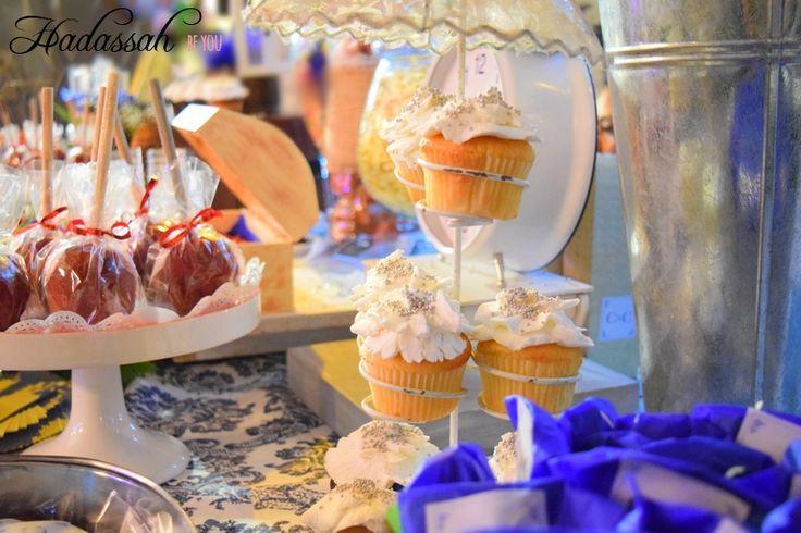 Mesa de Dulces Vintage Cupcakes